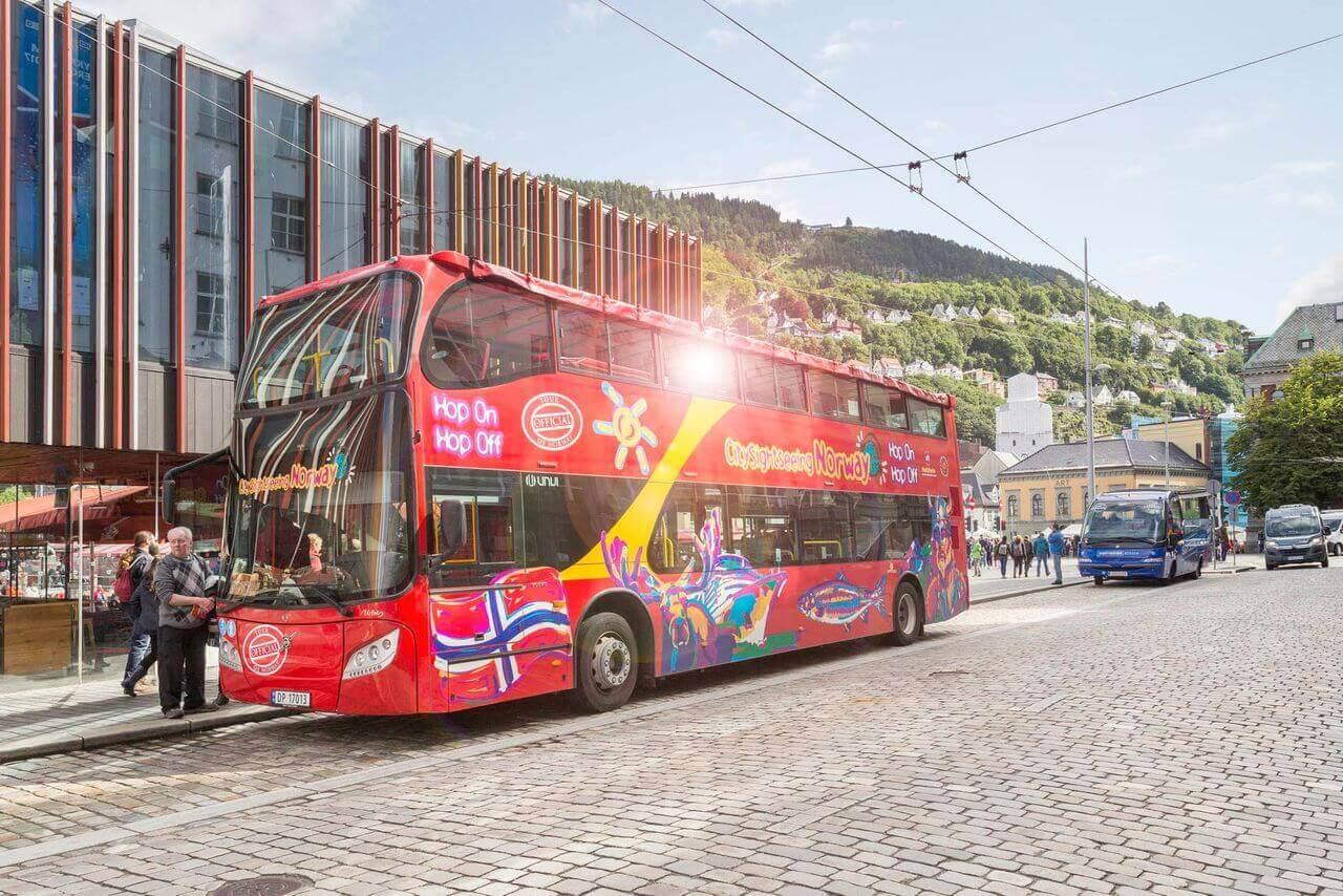 Bergen Hop-On, Hop-Off Bus Tour