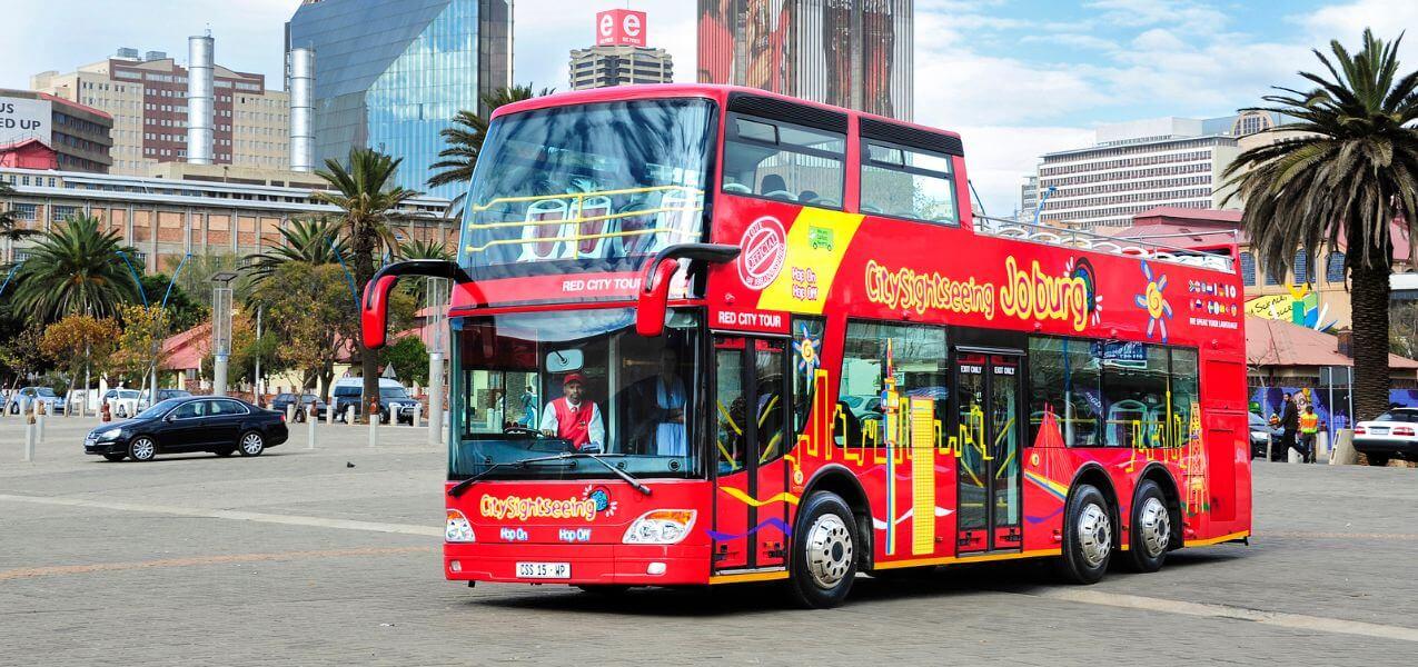 Johannesburg Hop-On, Hop-Off Bus Tour