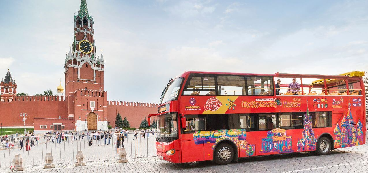 Moscow Hop-On, Hop-Off Bus Tour