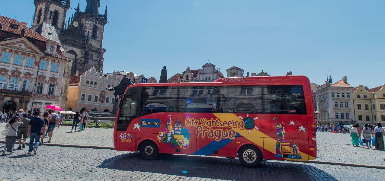 Prague Hop-on, Hop-off Bus Tour