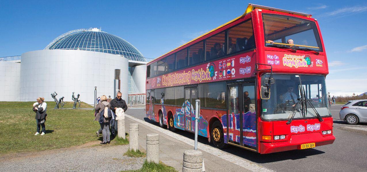 Reykjavik Hop-on, Hop-off Bus Tour