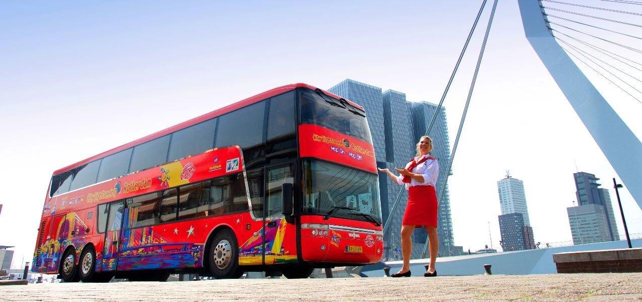 Rotterdam Hop-On, Hop-Off Bus Tour