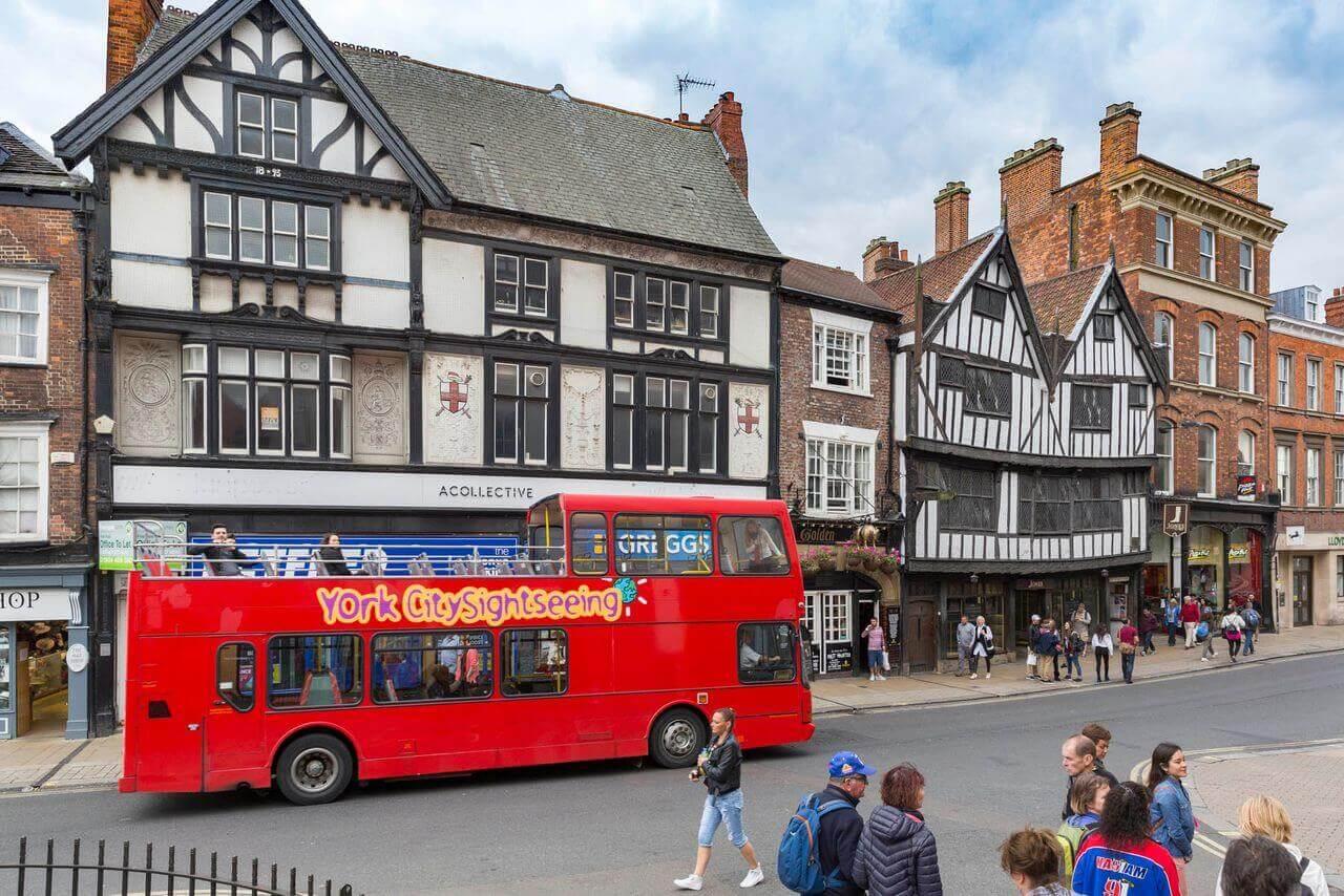 York Hop-On, Hop-Off Bus Tour