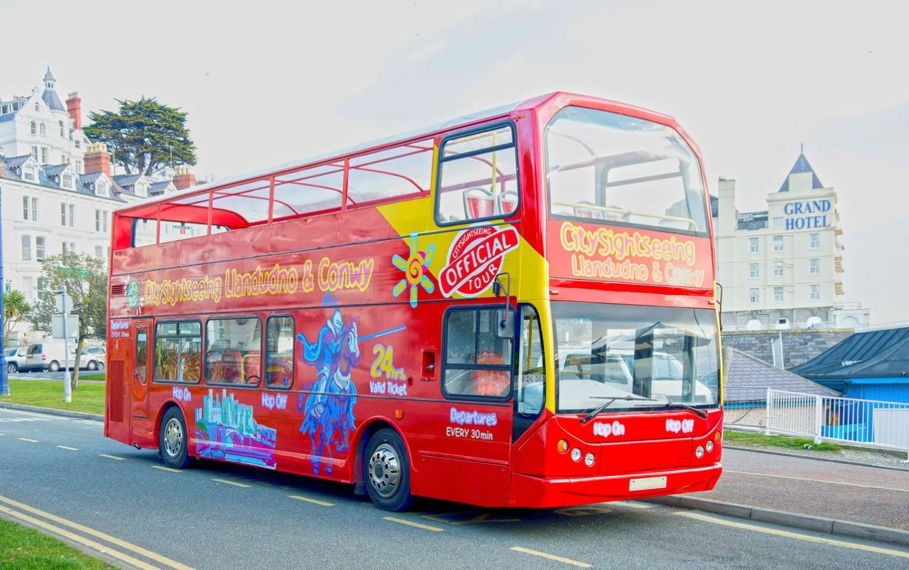 Llandudno Hop-on, Hop-off Bus Tour