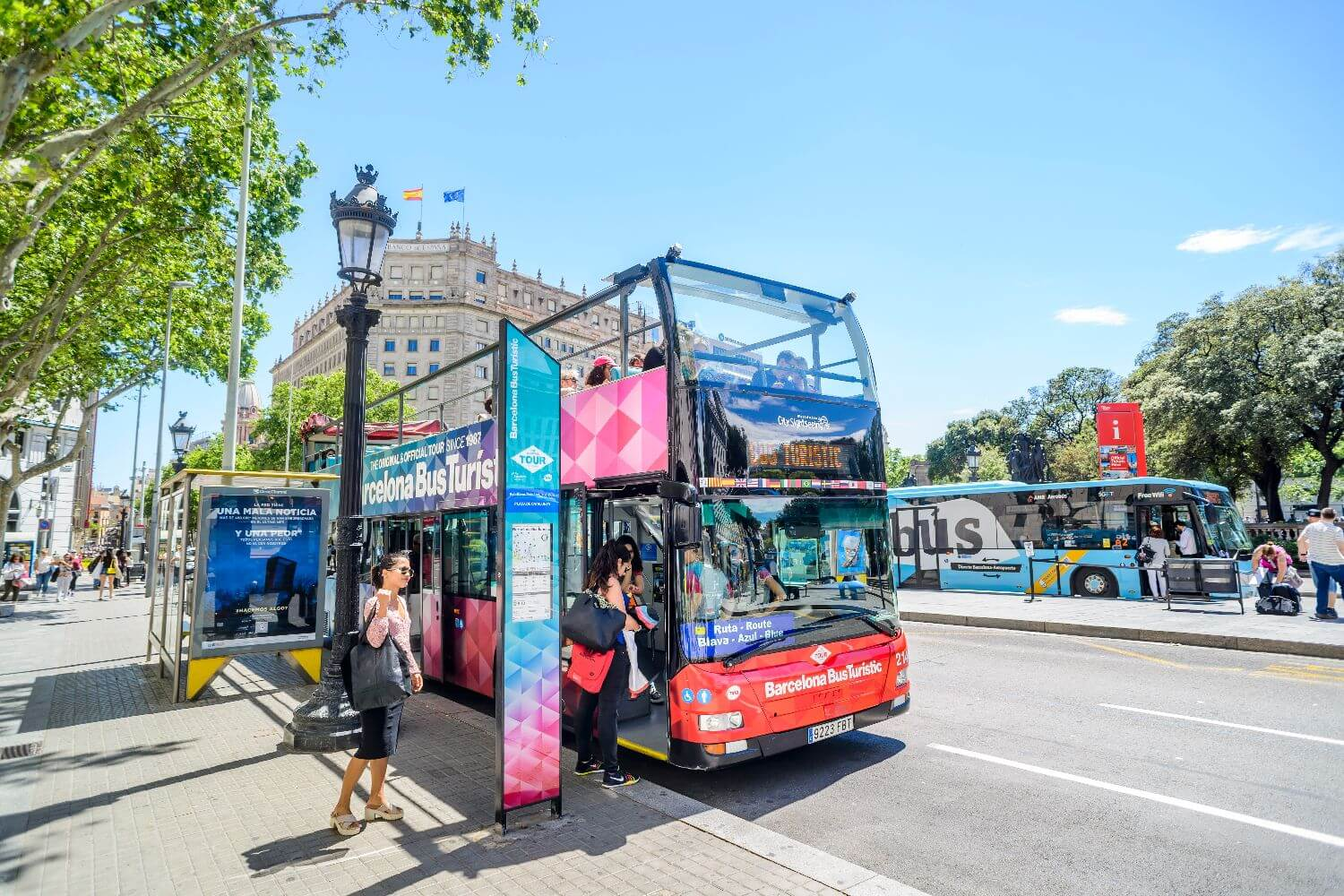 Barcelona Hop-on, Hop-off Bus Tour