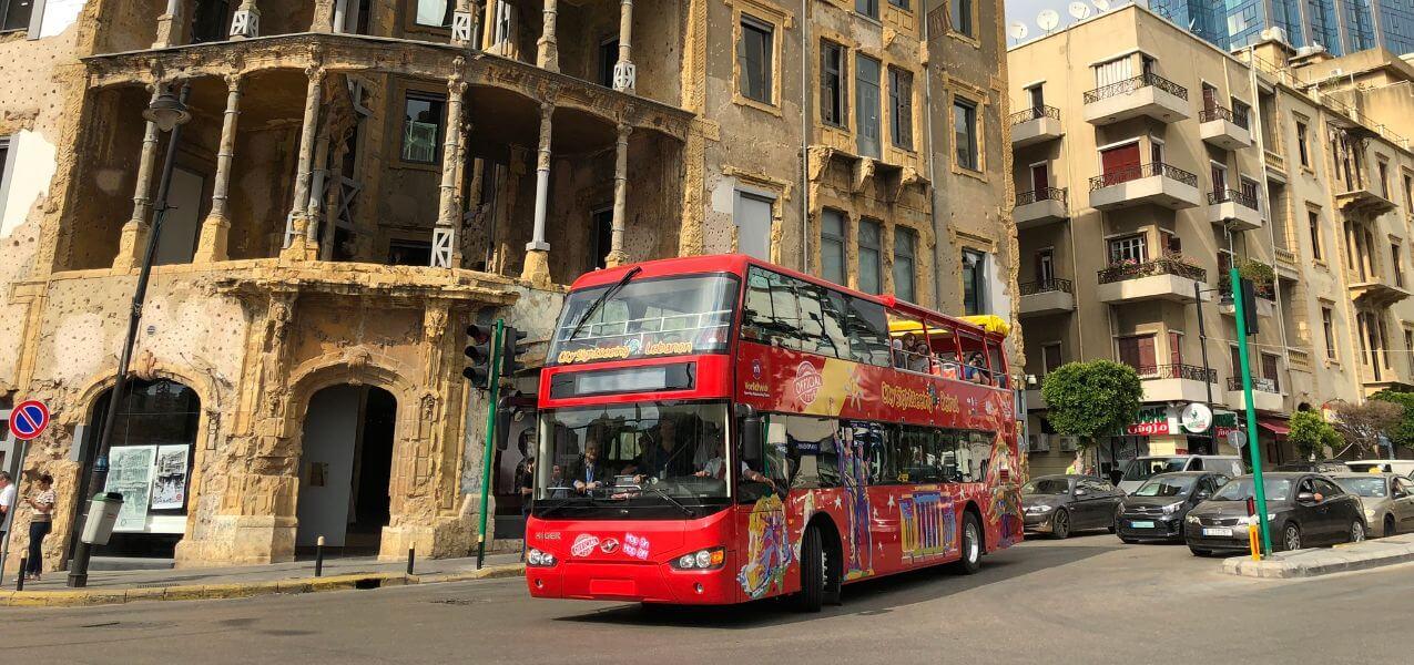 Beirut Hop-on Hop-off Bus Tour