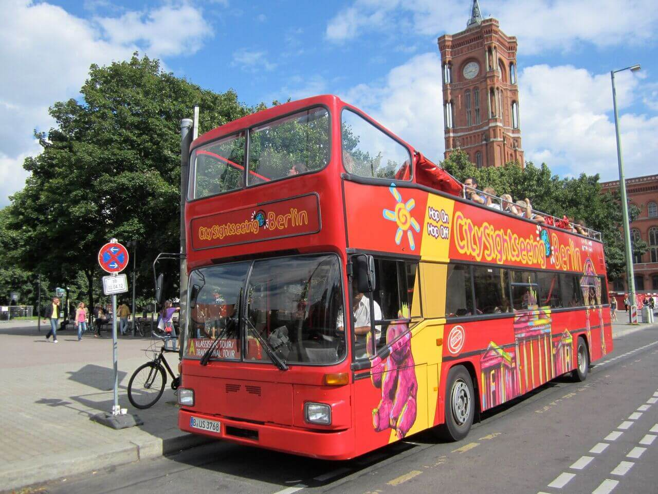 City Sightseeing Berlin Hop-On, Hop-Off Bus Tour with Optional Boat Tour
