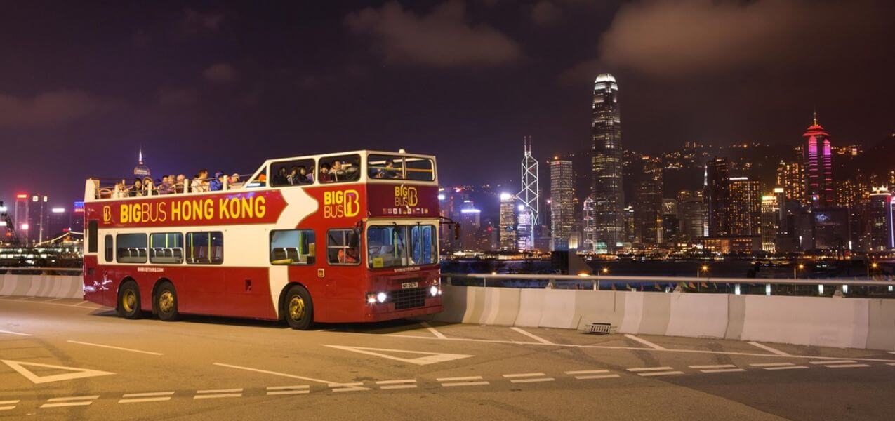 Big Bus Hong Kong Hop-on, Hop-off Bus Tour