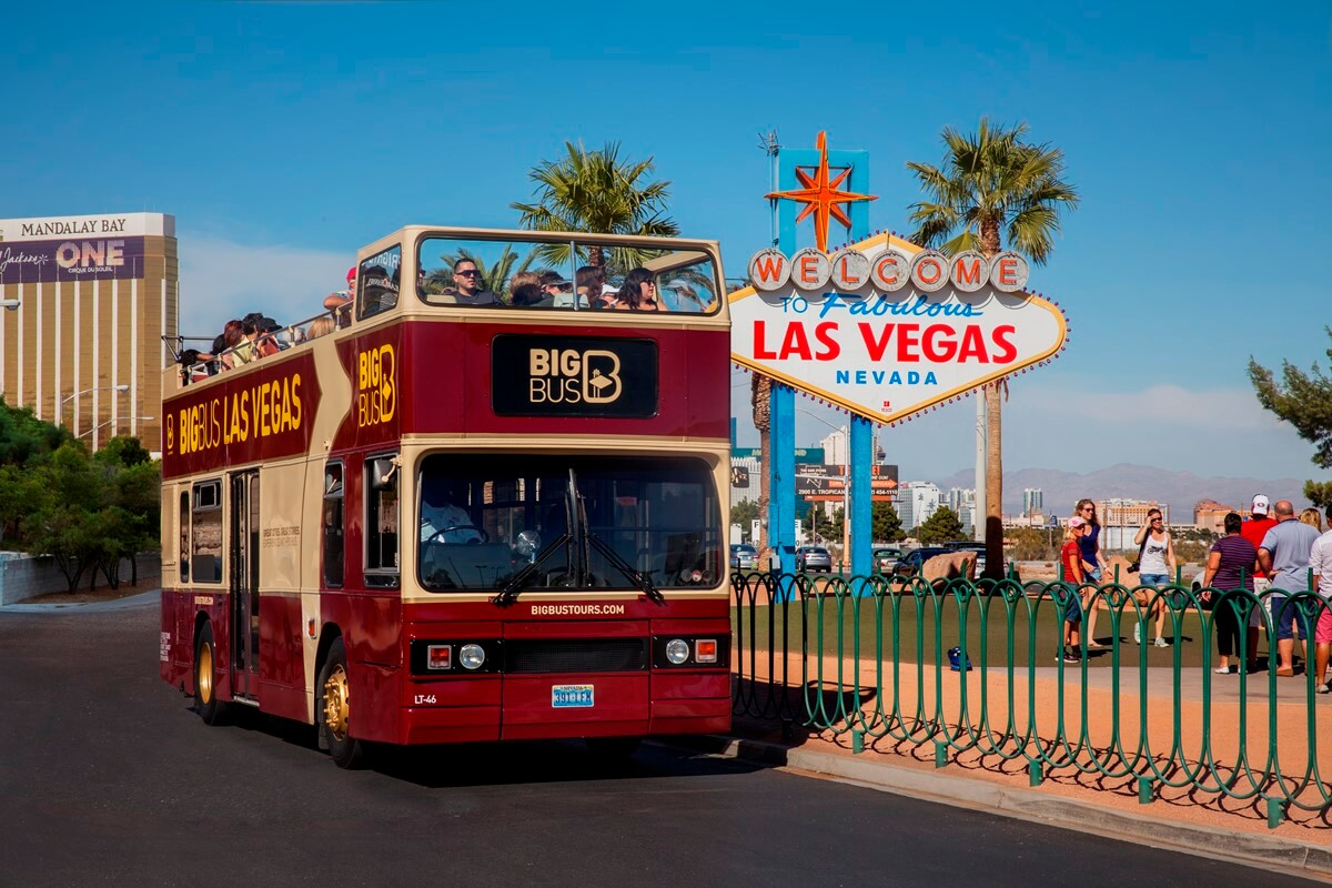 Big Bus Las Vegas Hop-On, Hop-Off Tour