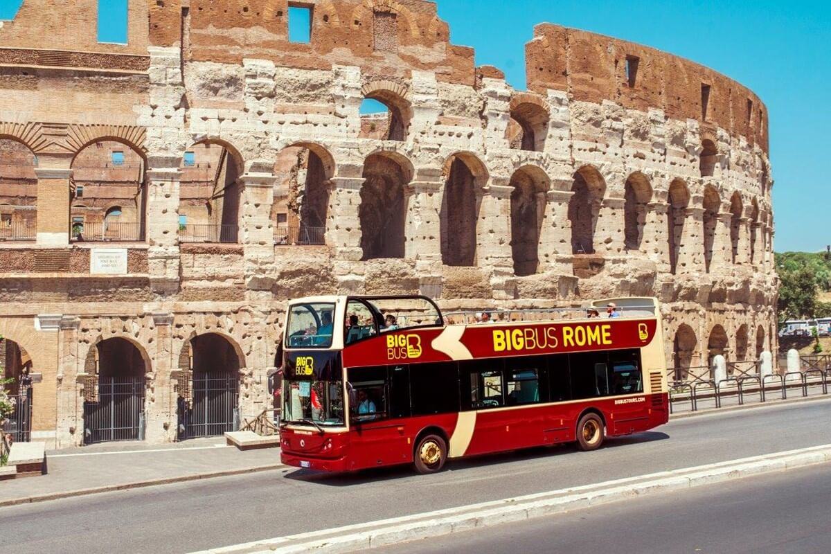 Rome Hop-on, Hop-off Bus Tour
