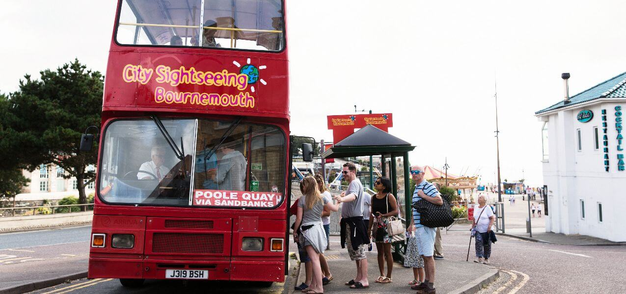 Bournemouth Hop-On, Hop-Off Bus Tour