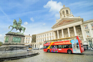 City Sightseeing Brussels Hop-On, Hop-Off Bus Tour