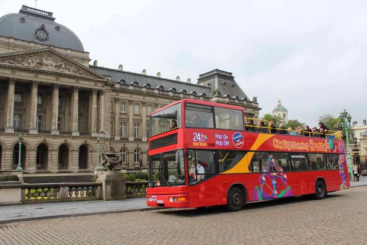 Brussels Hop-on, Hop-off Bus Tour