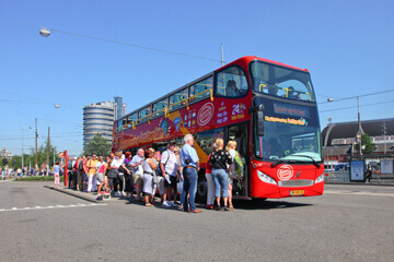 City Sightseeing Amsterdam Hop-On, Hop-Off Bus Tour with Optional Cruise