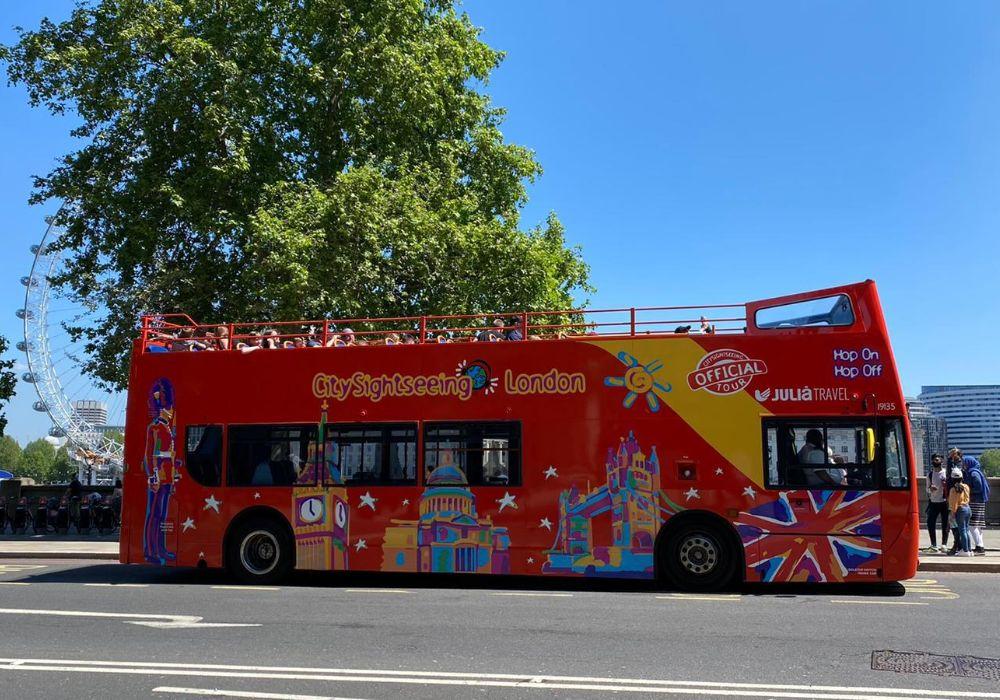 London Hop-On, Hop-Off Bus Tour