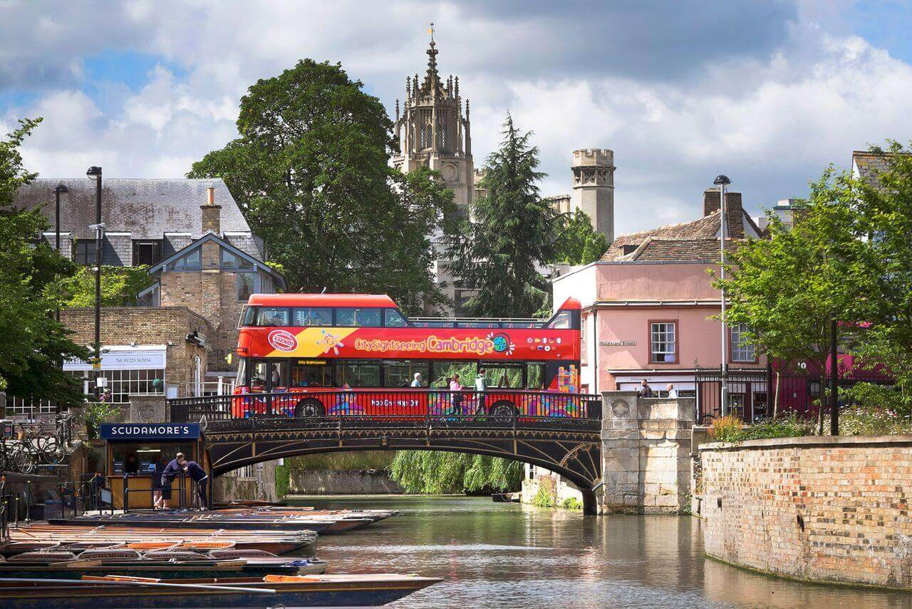 Cambridge Hop-On, Hop-Off Bus Tour