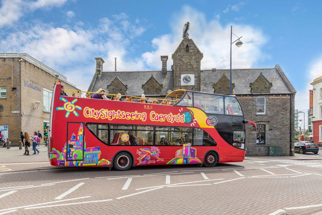 Cardiff Hop-On, Hop-Off Bus Tour