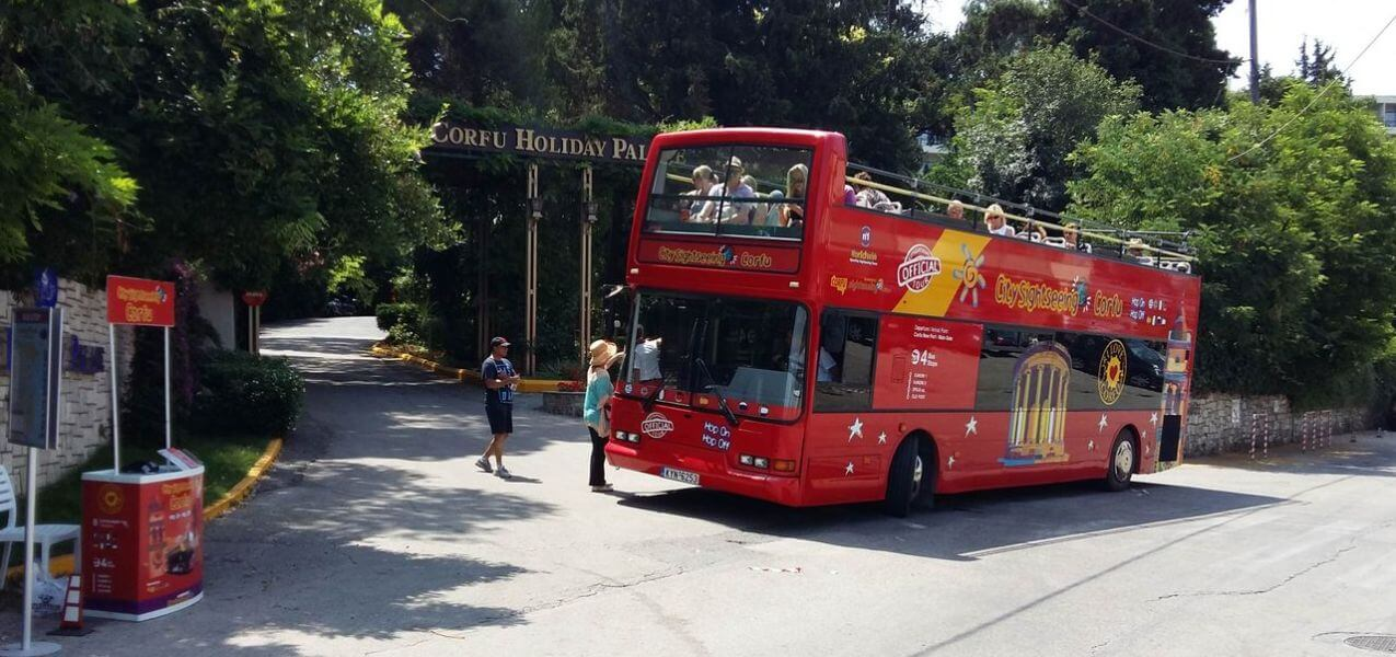 Corfu Hop-on, Hop-off Bus Tour