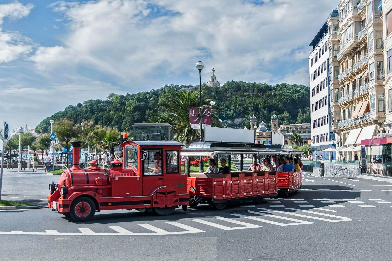 Donostia - San Sebastian City Tour Train