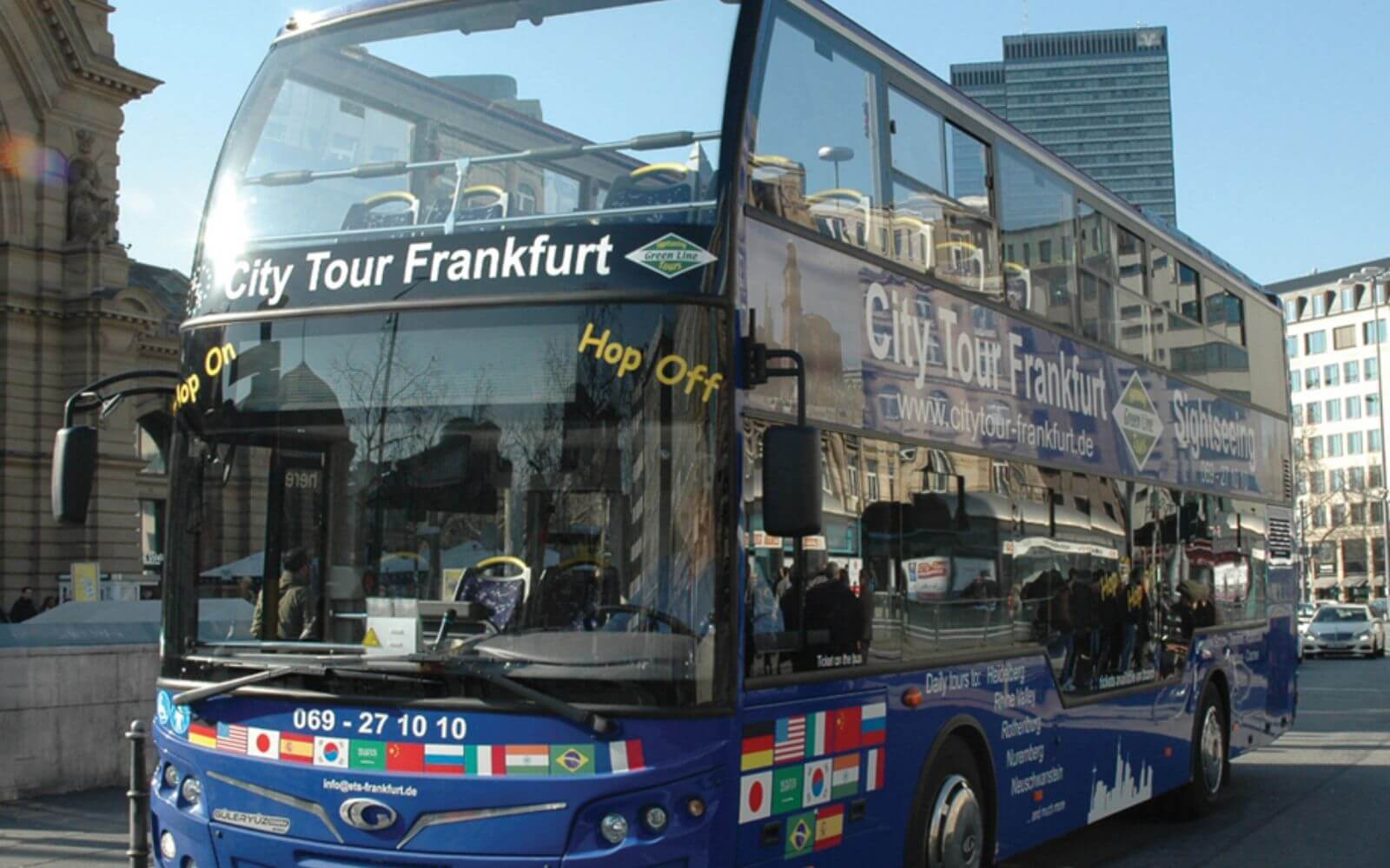 Frankfurt City Hop On – Hop Off