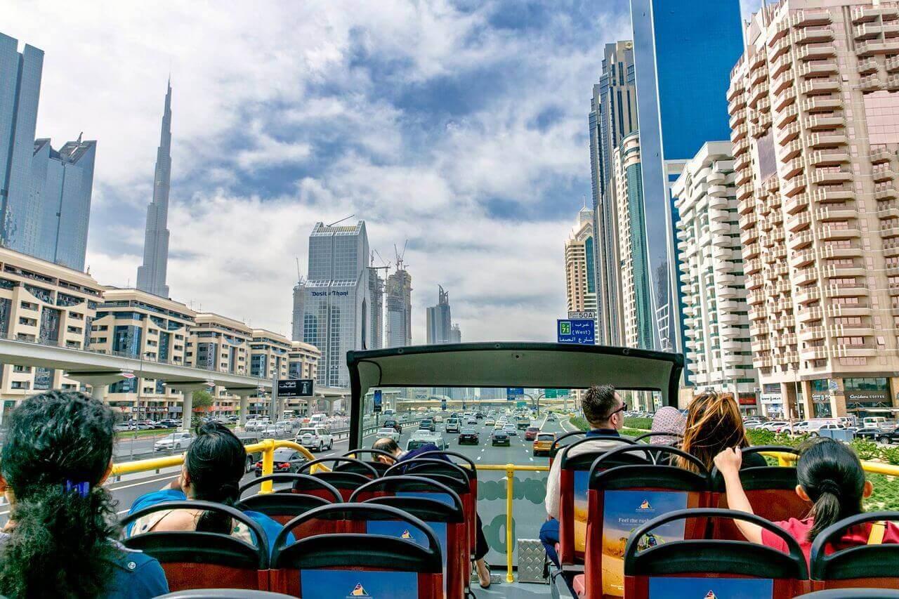Dubai Hop-on, Hop-off Bus Tour