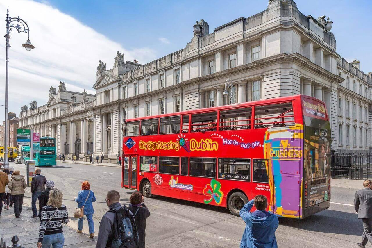 Dublin Hop-on, Hop-off Bus Tour