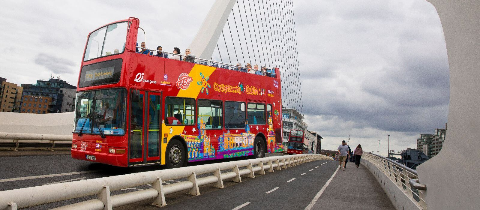 City Sightseeing Dublin Hop-On, Hop-Off Bus Tour