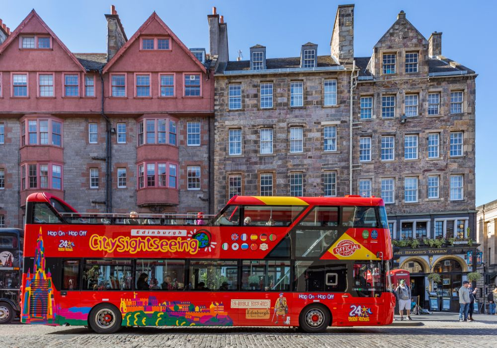 Edinburgh Hop-on, Hop-off Bus Tour