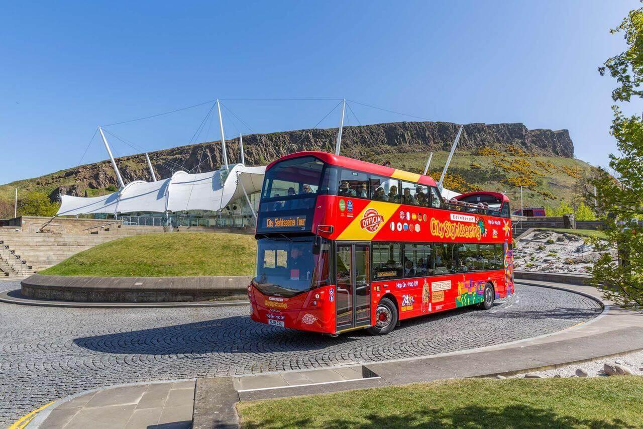 Edinburgh Hop-on, Hop-off Bus Tour