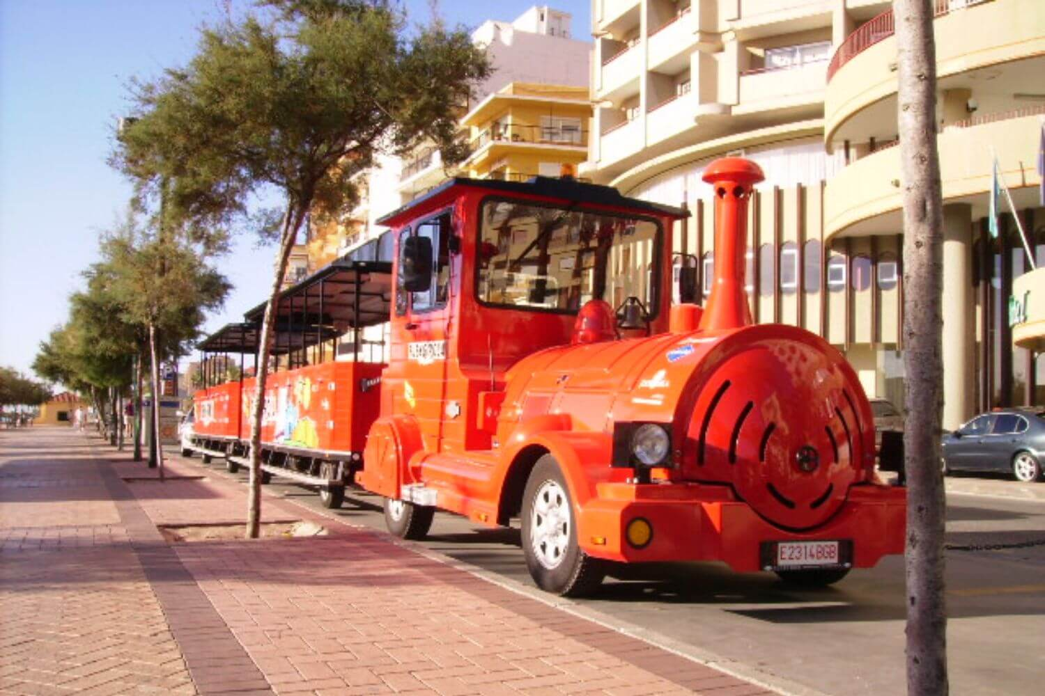Fuengirola City Tour Train, Hop on – Hop-off
