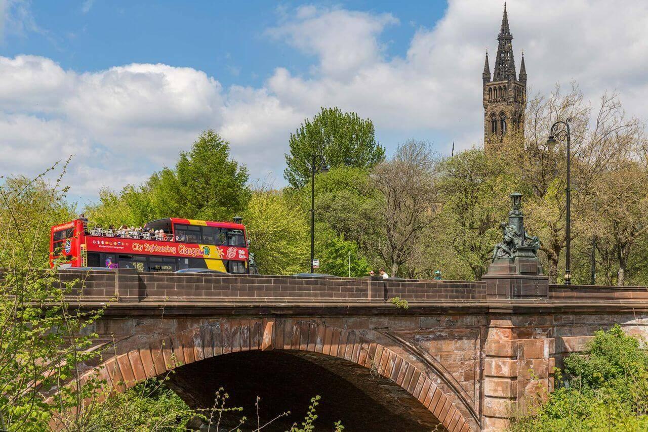 Glasgow Hop-On, Hop-Off Bus Tour
