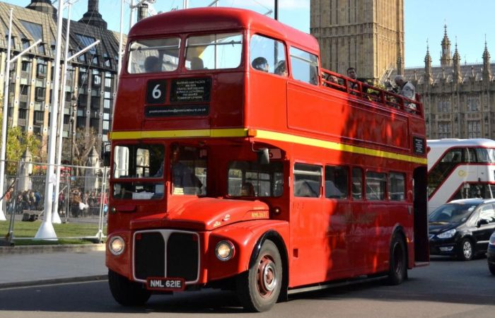 Vintage Bus Tour with Fish & Chips