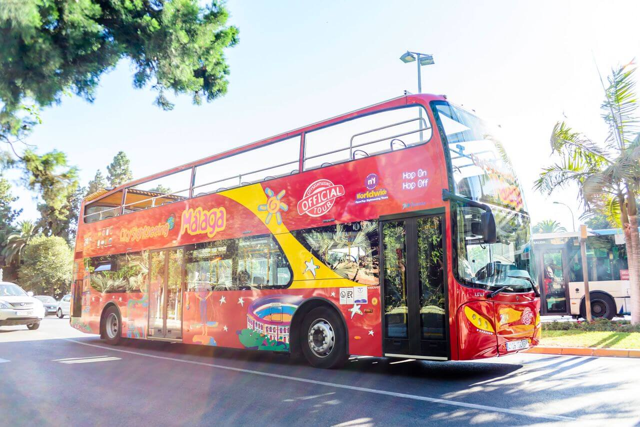 Malaga Hop-On, Hop-Off Bus Tour