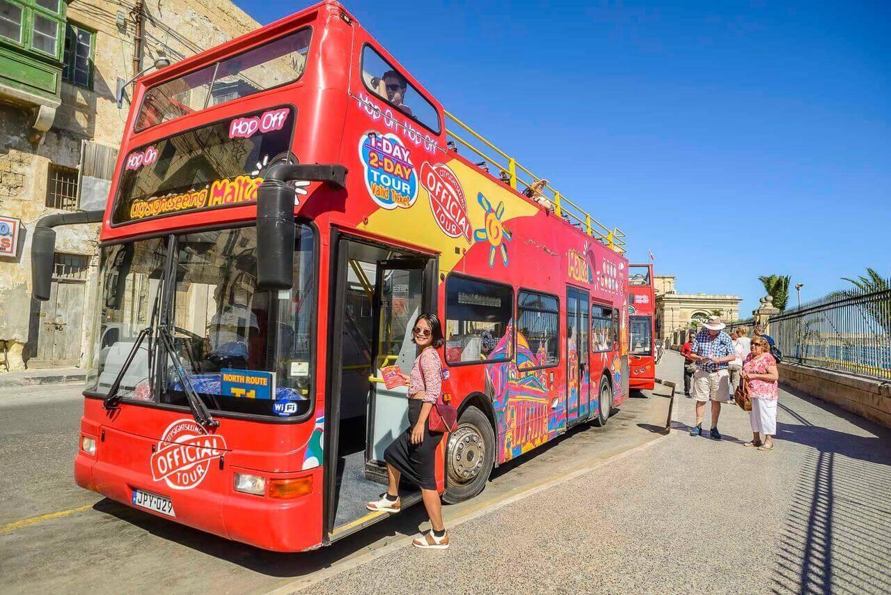 Malta Hop-On, Hop-Off Bus Tour
