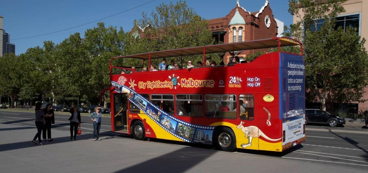 Melbourne Hop-on, Hop-off Bus Tour