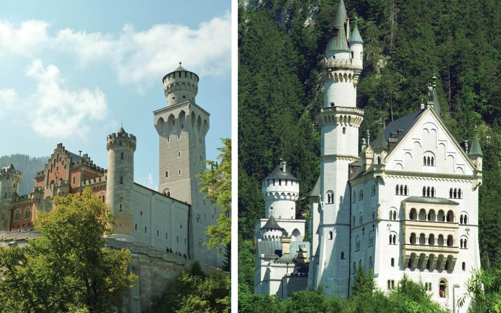 Neuschwanstein Castle and Rothenburg