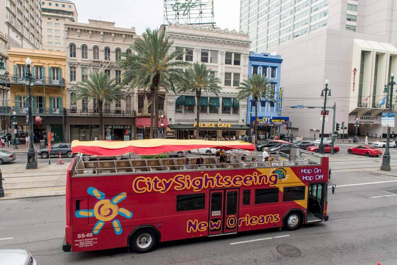 City Sightseeing New Orleans Hop On Hop Off Bus Tour