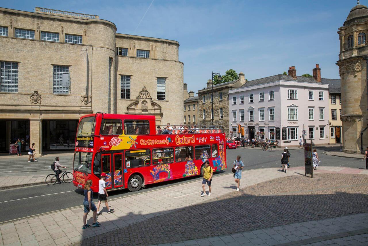 Oxford Hop-On, Hop-Off Bus Tour