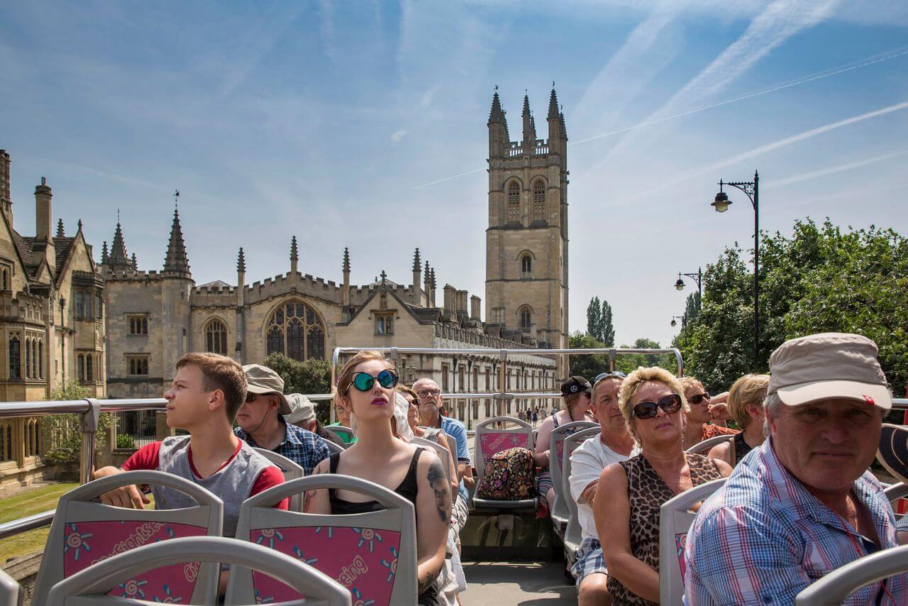 Oxford Hop-On, Hop-Off Bus Tour