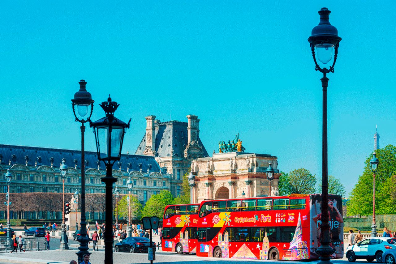 City Sightseeing Paris Hop on Hop off