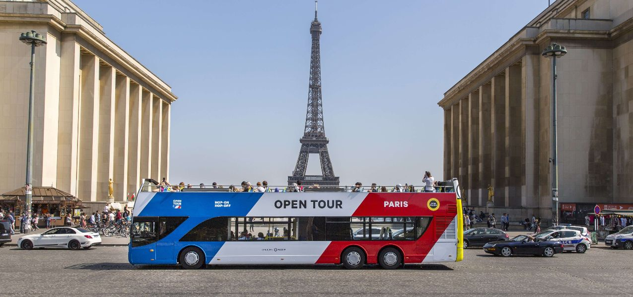 Paris Open Tour Hop-on, Hop-off