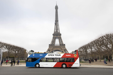 Paris Hop-on, Hop-off Bus Tour
