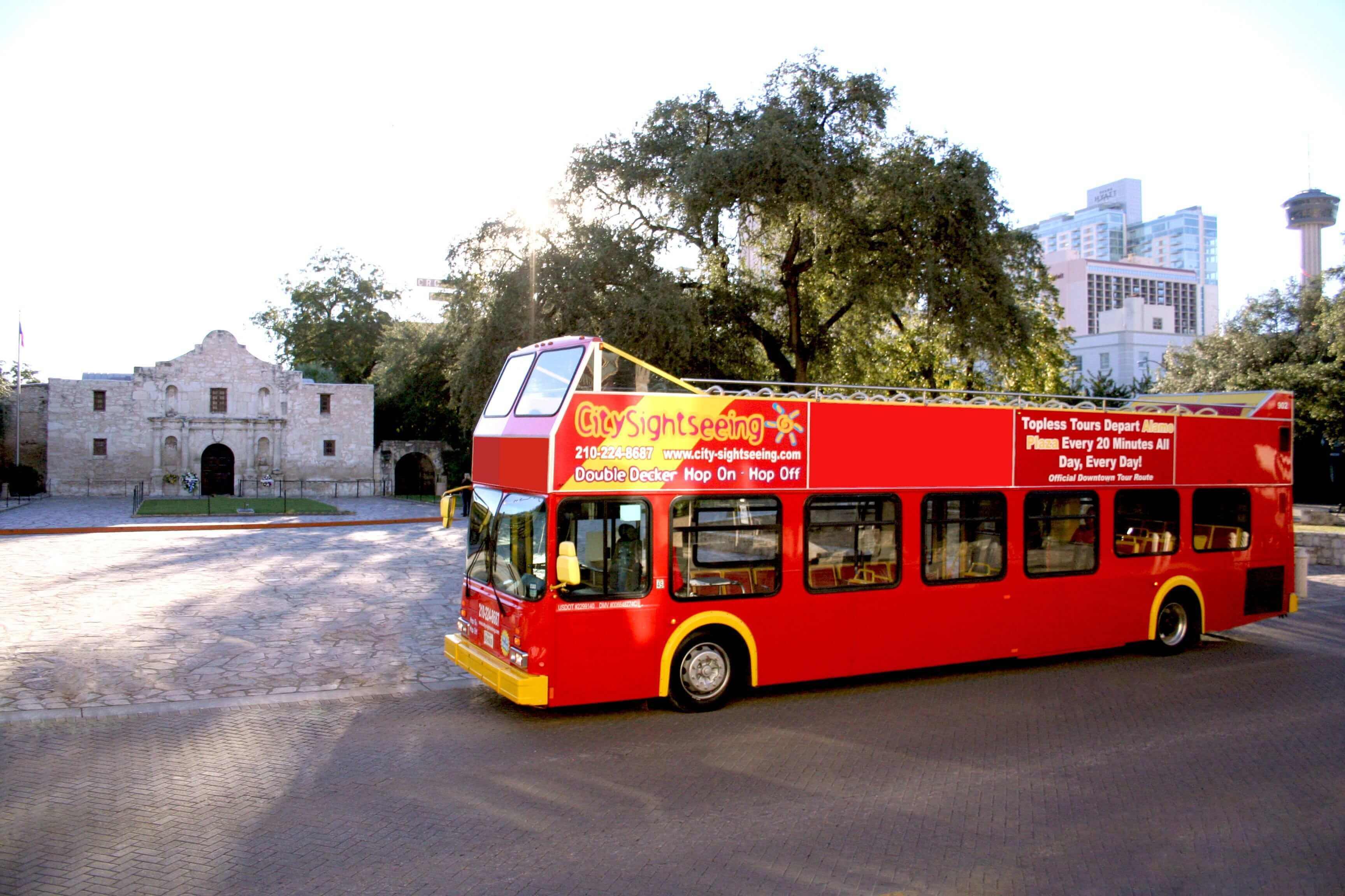 San Antonio Hop-On, Hop-Off Bus Tour