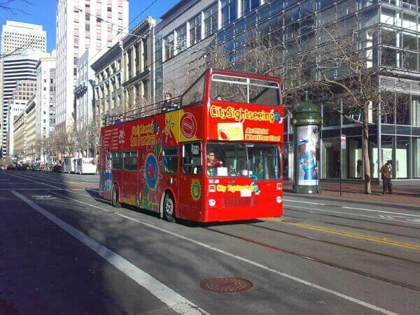 San Francisco Hop-On, Hop-Off Bus Tour
