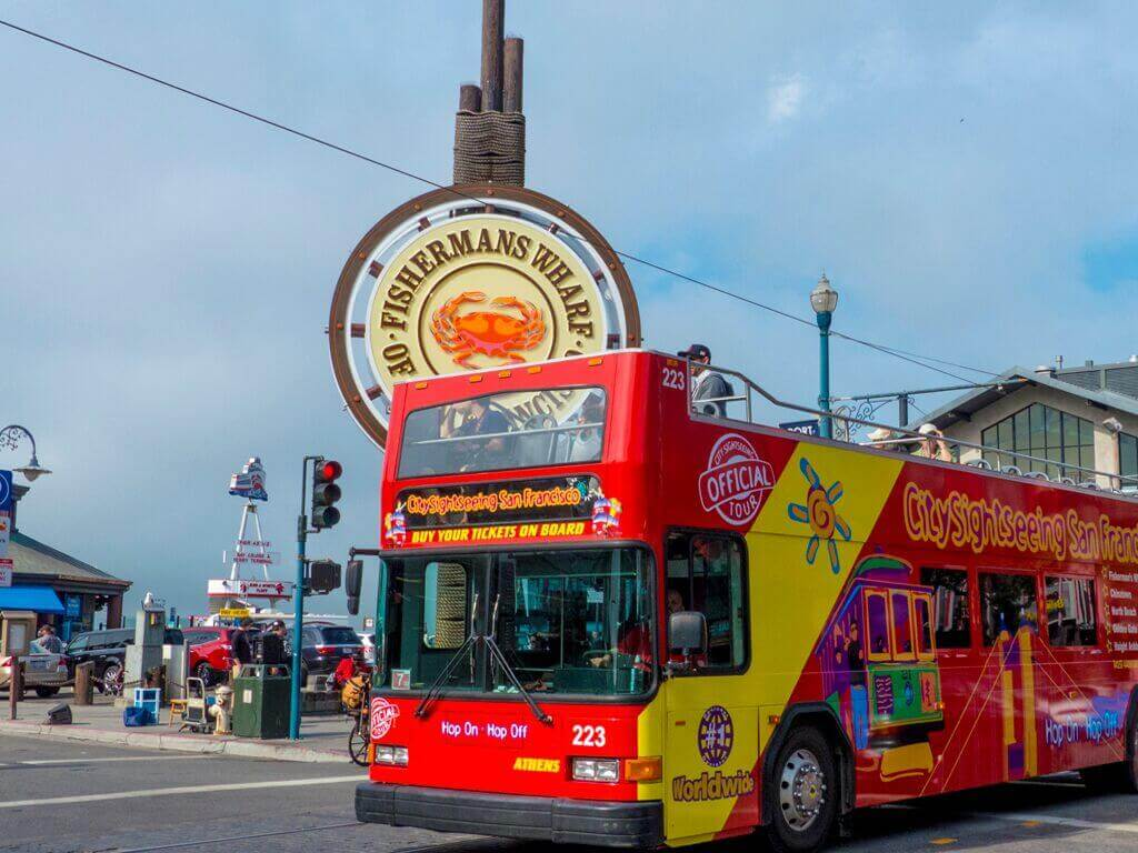 City Sightseeing San Francisco Hop-On, Hop-Off Bus Tour