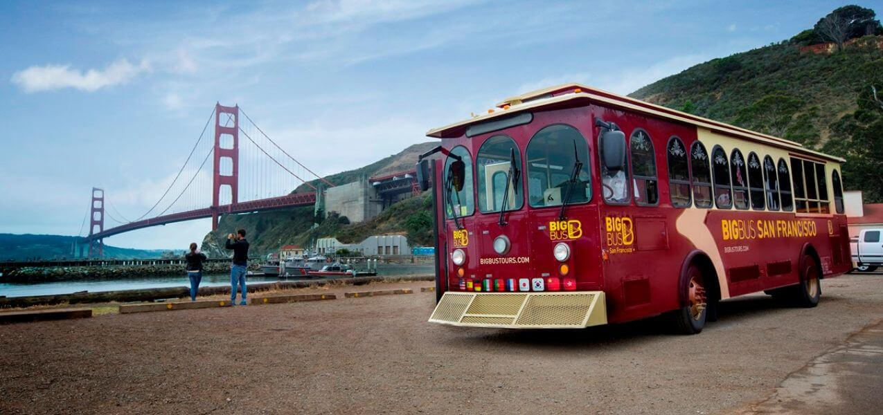 San Francisco Hop-On, Hop-Off Bus Tour