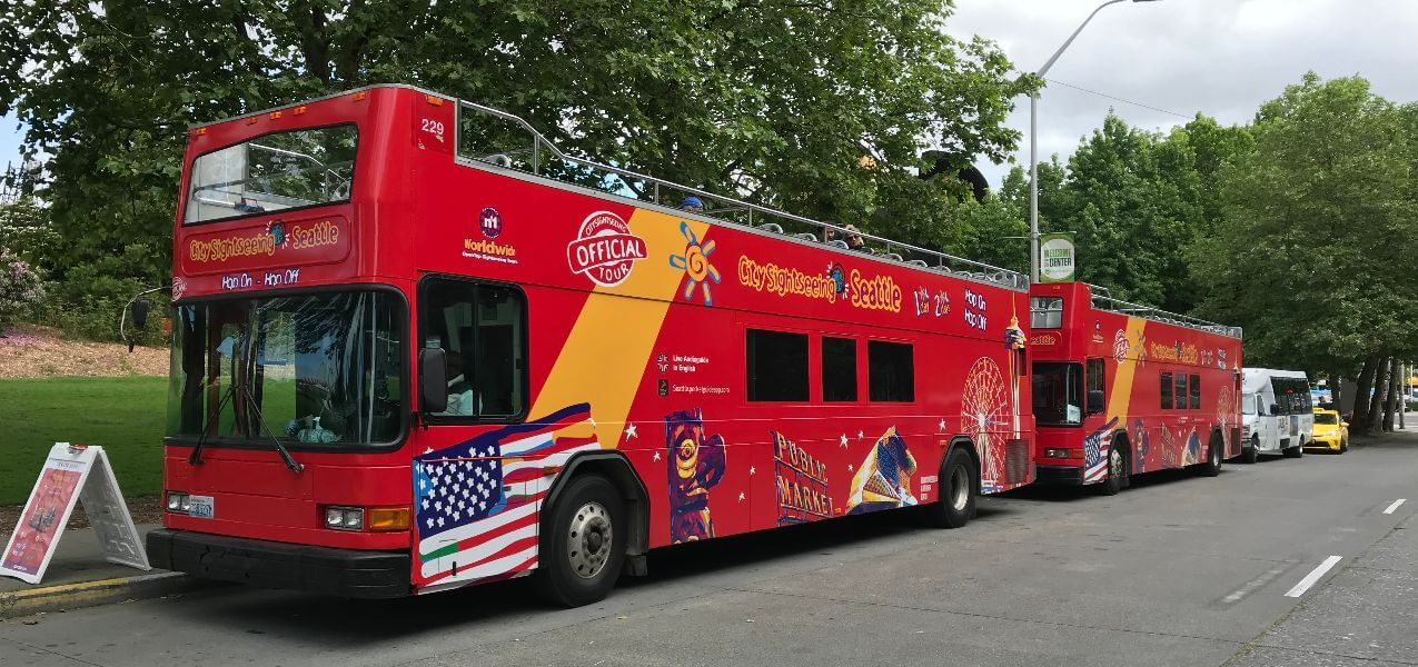 Seattle Hop-On, Hop-Off Bus Tour
