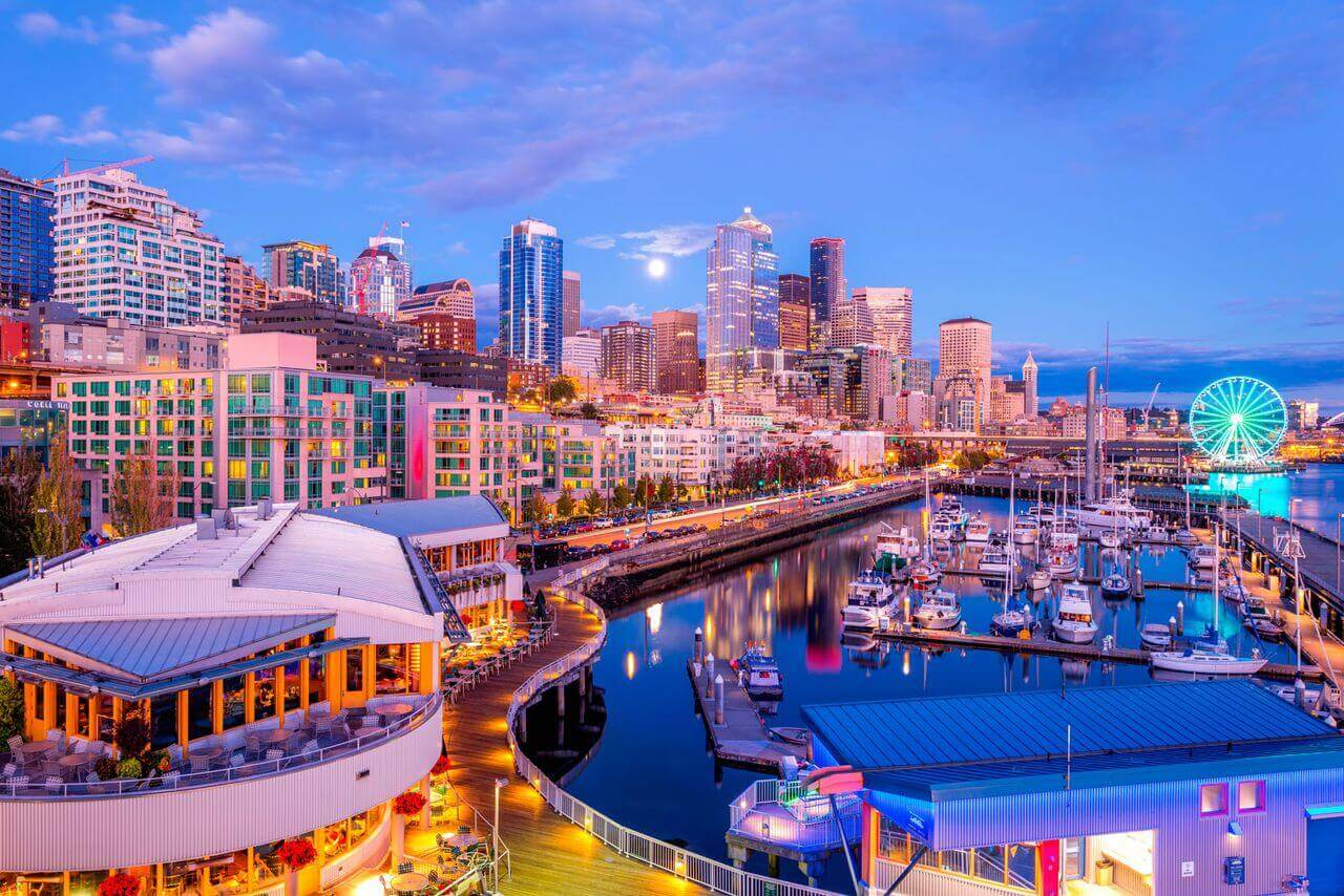 Seattle Hop-On, Hop-Off Bus Tour