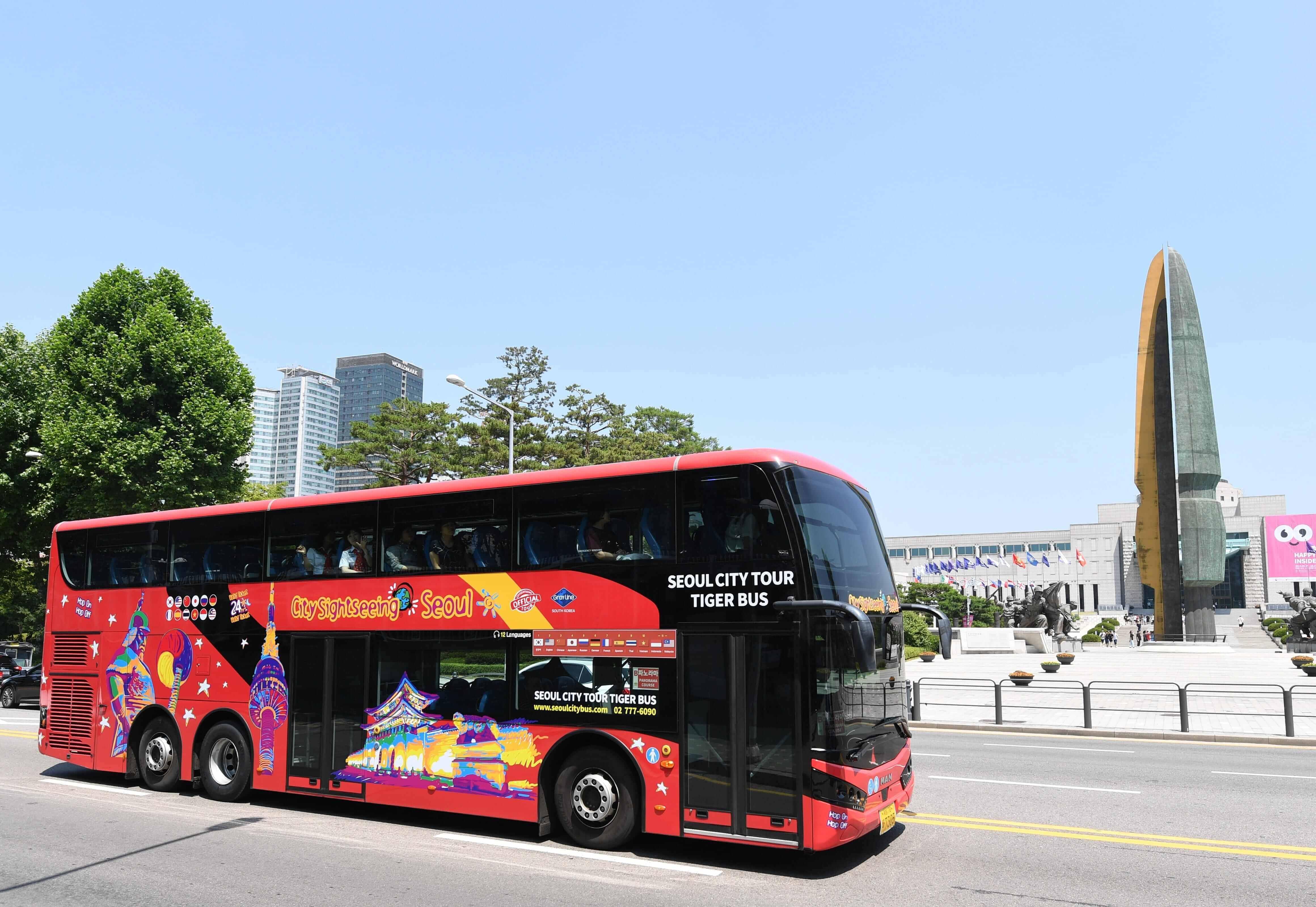 Seoul Hop-on Hop-off Bus Tour