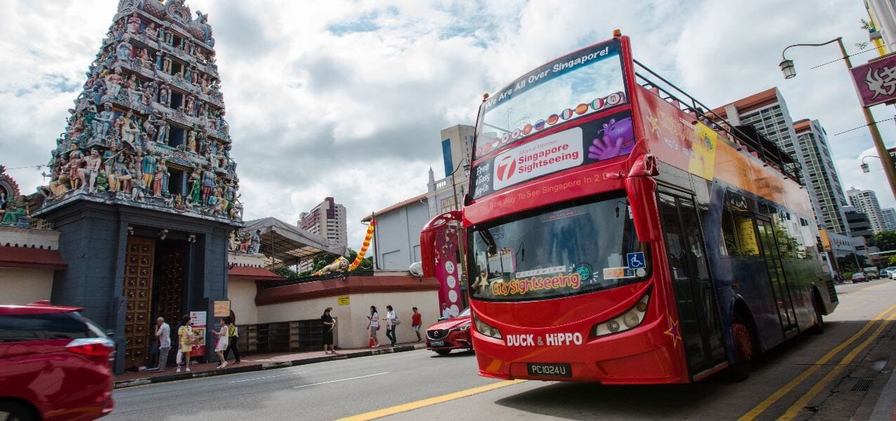 Singapore Hop-On, Hop-Off Bus Tour